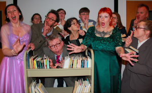 Carmen & Mimi and Friends present 'The Library of Love' @ The Burrell Theatre
