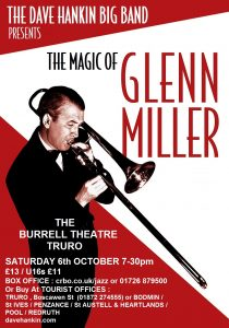 The Dave Hankin Big Band presents 'The Magic of Glenn Miller' @ The Burrell Theatre